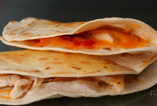 Grilled Chicken Quesadilla's
