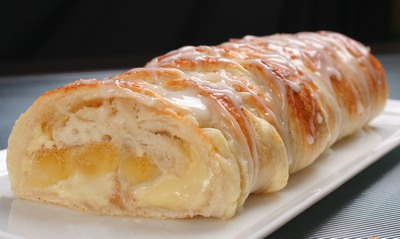Apple Cinnamon Cream Cheese Loaf