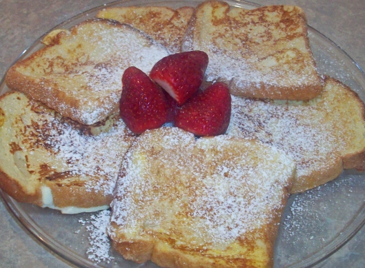 Alton Brown's French Toast
