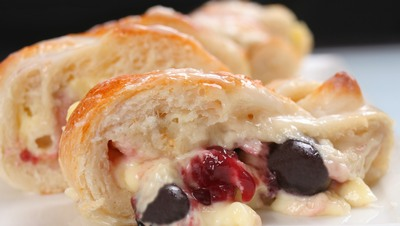 Blueberry Cream Cheese Loaf