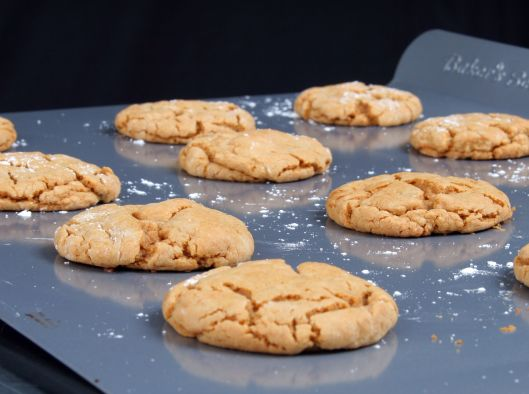 Honey PB Cookies