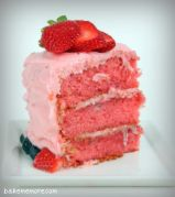 Strawberry Cake soft