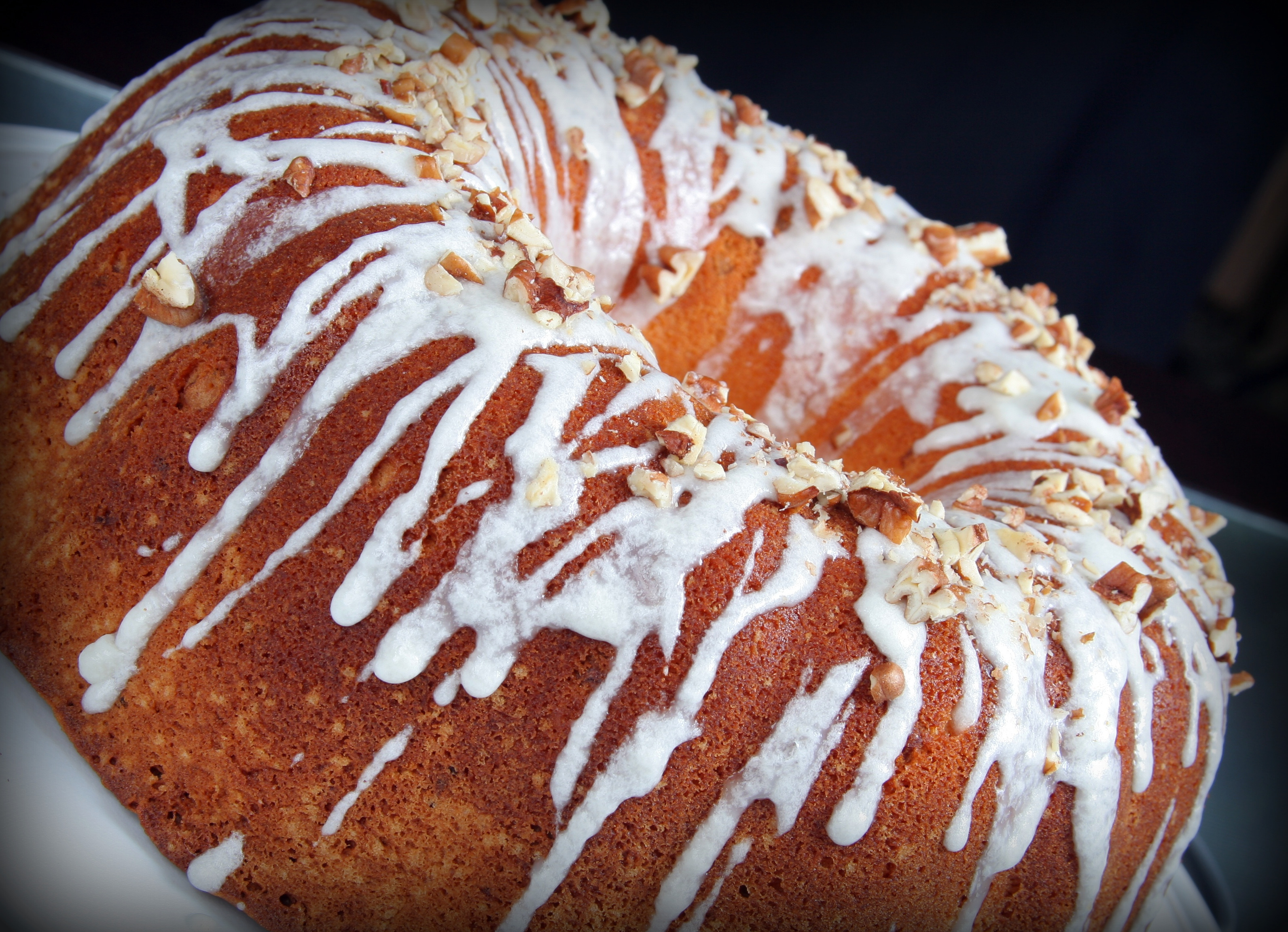Southern Living Cream Cheese Bourbon Pecan Pound Cake